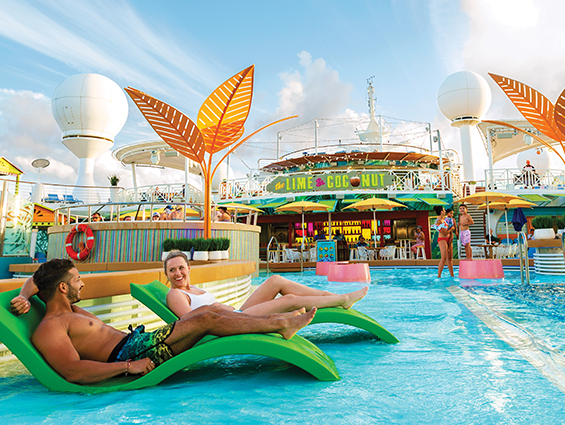 Pools and whirlpools royal caribbean cruise